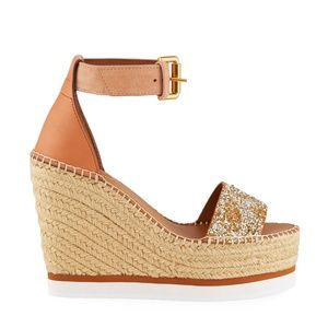 SEE BY CHLOE GYLN WEDGE SIZE 8